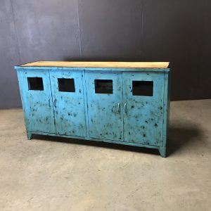 dressoir match blue
