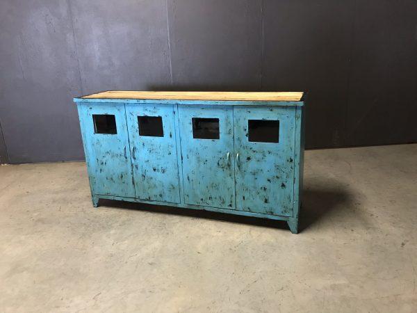 dressoir match blue