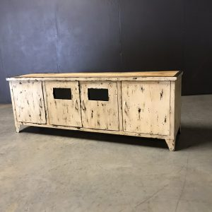 tv dressoir match old white