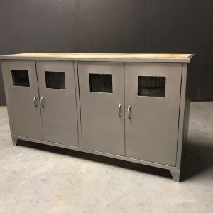dressoir match metal