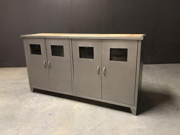 dressoir match metal