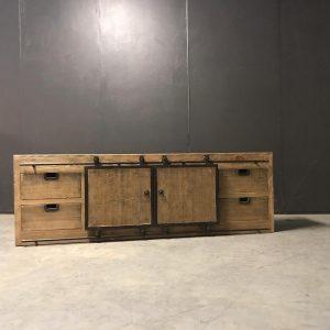tv dressoir schuifdeuren 001
