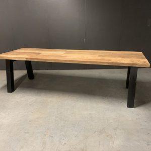 eettafel mixed wood